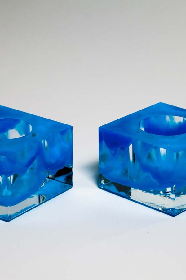 Sawyer Votives - Blue Infused